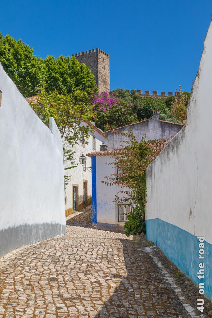 Im kleinen Óbidos sind die Wege nicht weit.